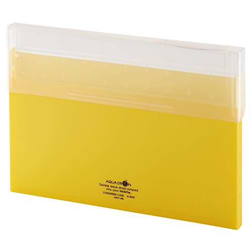 Lihit Lab congless case A4 thin 通信販売 yellow A5035-5 黄 結婚祝い リヒトラブ 単価336円 150セット A5035-5 送料無料 コングレスケース A4薄型