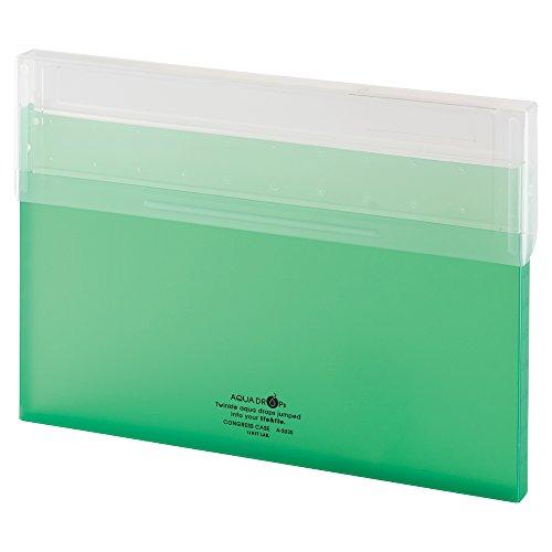 2020 新作 Lihit Lab congless 贈答品 case A4 thin yellowish green A5035-6 150セット リヒトラブ コングレスケース 黄緑 A5035-6 A4薄型 送料無料 単価336円