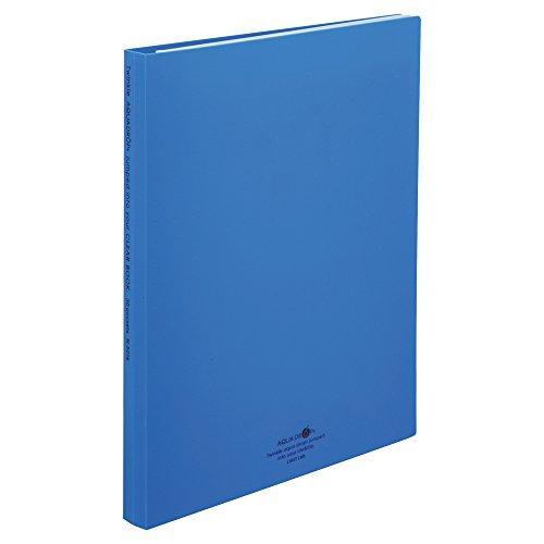 Licht black book AQUABL N-5016-8 送料無料 単価504円 100セット [宅送] リヒトラブ 青 秀逸 N5016-8 30P クリヤーブック交換式 A4