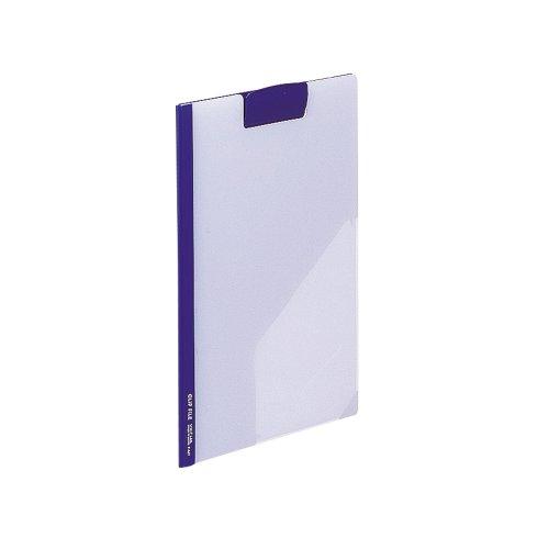 Richt clip file F-447 eye 4903419162955 送料無料 リヒトラブクリップファイル 売れ筋ランキング 単価504円 セール品 片面透明 藍 A4 100セット