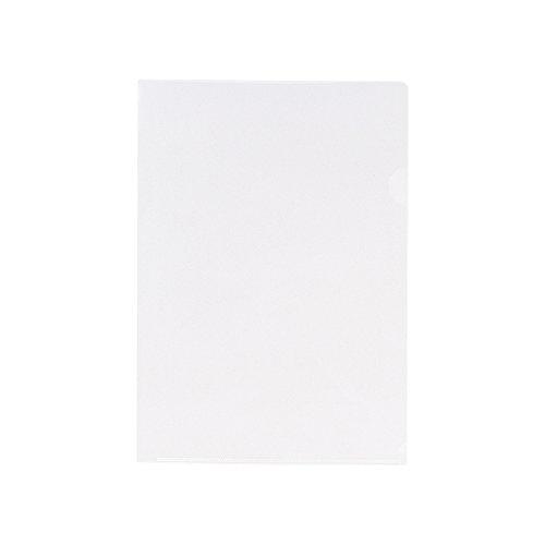 【送料無料・単価1417円・10セット】リヒトラブ クリヤーフォルダー G6100-1 A4 乳白(10セット)