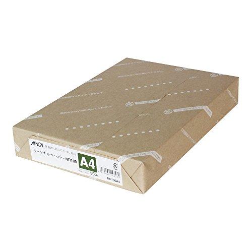 アピカ PPC用紙 パーソナルペーパー NR100A4 A4 500枚(10セット)