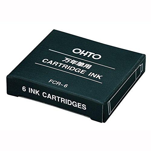 Auto pen cartridge アウトレット☆送料無料 お買得 FCR-6 blue bra 送料無料 ブルーブラック 60セット 単価152円×60セット 4971516530731 オート 万年筆カートリッジ