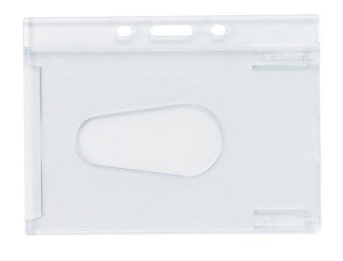 【送料無料・単価862円・10セット】オープン工業 名札ケース ハードタイプ 10枚入(10セット)