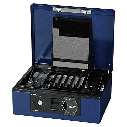 カール事務器 キャッシュボックス ブルー CB-8760-B(5セット) 4971760261818 カール事務器 キャッシュボックス ブルー CB-8760-B(5セット)