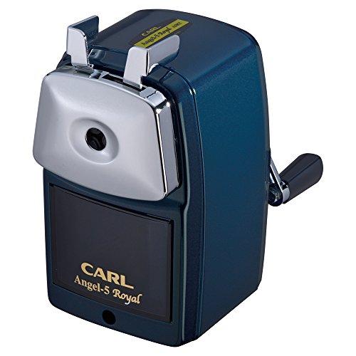カール事務器 鉛筆削り エンゼル5 ロイヤル ブルー A5RY-B(10セット)
