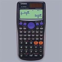 カシオ 関数電卓 数学自然表示 394関数 10桁 fx-375ES-N ブラック(5セット)