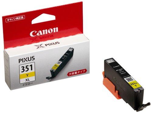 Canon キヤノン 純正 インクカートリッジ BCI-351 イエロー 大容量タイプ BCI-351XLY(10セット)