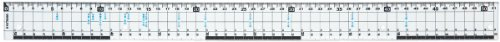 Kutsuwa HiLiNE尺寸刻刀直尺51cm KB018(5套)
