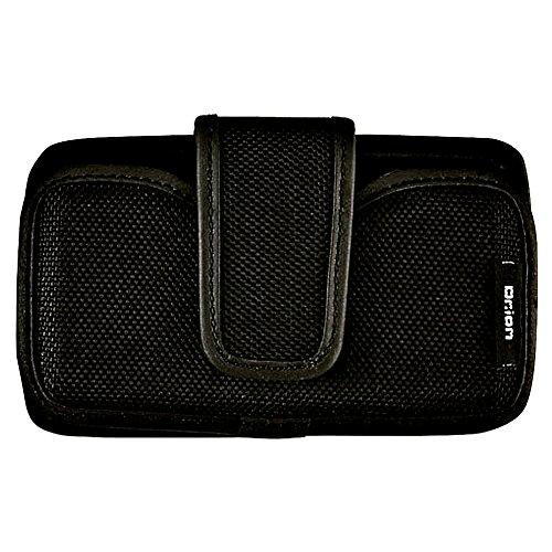 Kutsuwa Dr.ion智能手机情况准硬件215DRBK卧式黑色