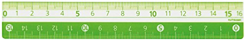 Kutsuwa STAD color ruler 16cm KB027GR green 送料無料 STAD セール品 16cm 400セット クツワ KB027GR 単価126円 最新アイテム グリーン カラー定規