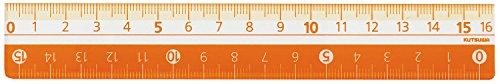 Ctswa ruler 16 評価 CM バースデー 記念日 ギフト 贈物 お勧め 通販 Orange KB027OR 送料無料 単価126円 オレンジ STAD クツワ 400セット KB027OR 16cm カラー定規