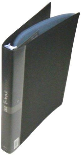 【送料無料・単価2065円・10セット】コレクト はがきカードファイル ブラック A4-L CF-8420-BK(10セット)