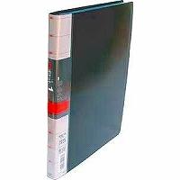 コレクト 透明ポケット1ファイル 黒 A4L30穴 S-841-BK(10セット)