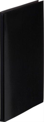 キングジム レザフェス クリアーファイル A4S 1931LF 黒(10セット)