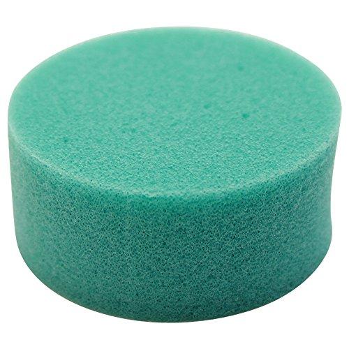 Brush refill sponge round 信託 MSK-11 送料無料 単価105円 480セット つめ替え用 抗菌剤入り事務用スポンジ メーカー直送 丸型 MSK-11 シャチハタ 蓋付