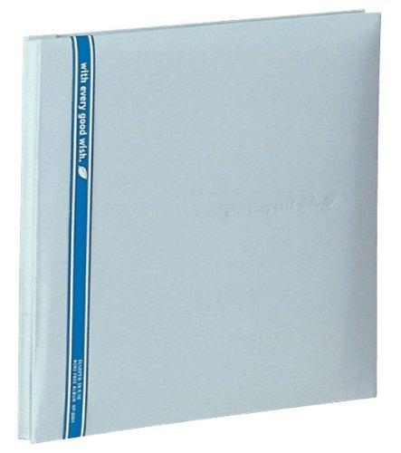 SEKISEI アルバム フリー ハーパーハウス ミニフリーアルバム 白台紙 20ページ 11~20ページ 布 シルバー XP-2001(10セット)