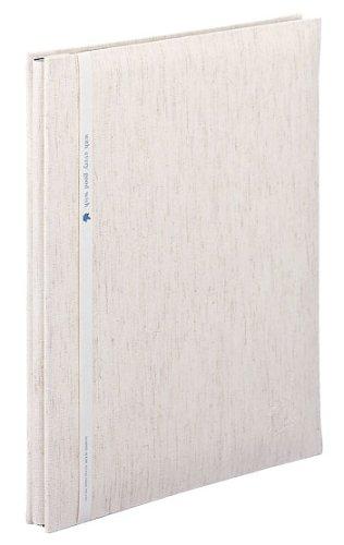 SEKISEI アルバム フリー ハーパーハウス A4フリーアルバム 黒台紙 20ページ リネン 11~20ページ 布 XP-2501(10セット)