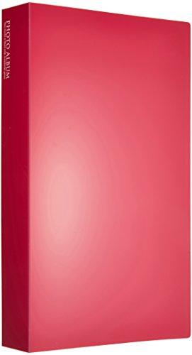 SEKISEI影集口袋照片影集高透明L尺寸300張容納L 201~300張粉紅KP-300