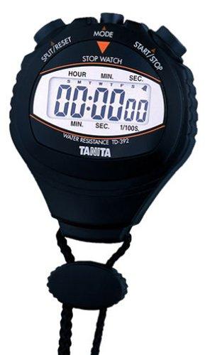 タニタ(TANITA) タニタ ストップウォッチ TD-392 ブラック 920937(10セット)