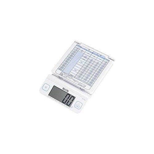 タニタ デジタルレタースケール 1kg ホワイト(5セット)