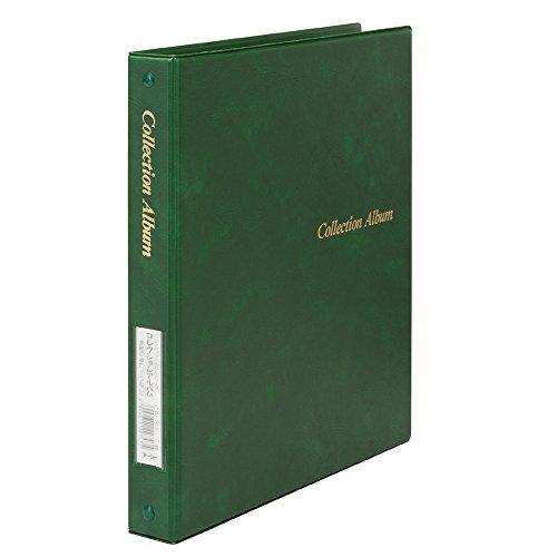 テージー コレクションアルバム 表紙 B5S 4穴 CA-30-03 緑(10セット)