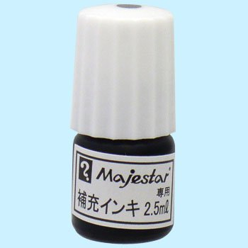 Teranishi Chemical Ind. Co. Ltd. マジェスター supplement 正規品 ink black 送料無料 Motoiri 480セット セール特別価格 寺西化学工業 3 マジェスター補充インキ 3本入 黒 単価105円