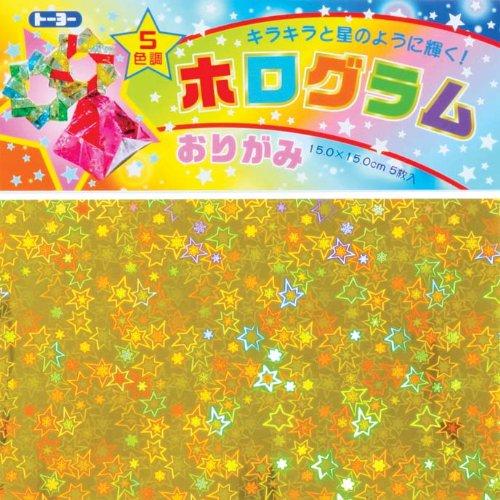 Toyo hologram origami 大人気! 人気の製品 007048 4902031293276 単価210円 240セット ホログラムおりがみ 送料無料