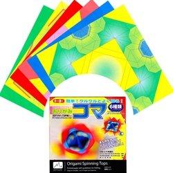倉庫 Toyo origami top 感謝価格 007071 送料無料 トーヨー 単価140円 折紙コマ 360セット