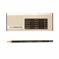 トンボ鉛筆 鉛筆 モノ100 3B MONO-1003B 1ダース(10セット)