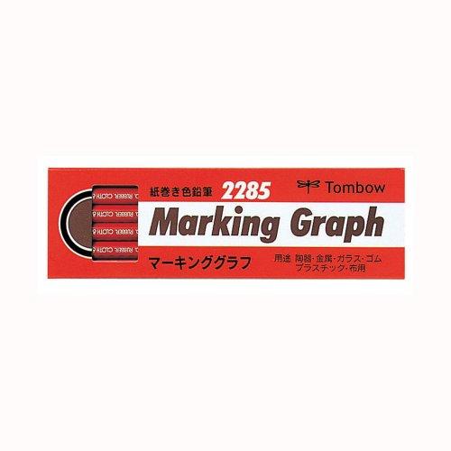 流行のアイテム Dragonfly marking chart red バースデー 記念日 ギフト 贈物 お勧め 通販 228525 4901991001204 送料無料 単価1026円 紙巻き色鉛筆 トンボ鉛筆 赤 マーキンググラフ 2285-25 1ダース 20セット