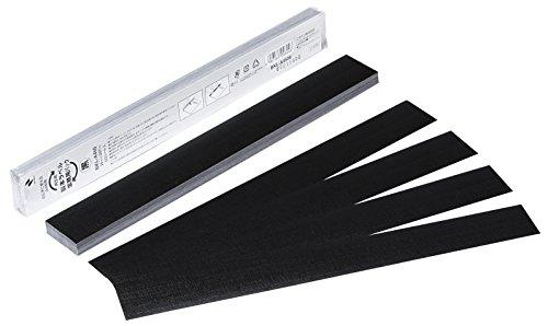 ニチバン 製本ラベル A4判 35mm BKL-A4506 黒 50片入(5セット)