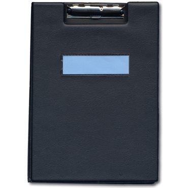 一ツ橋ノート 用箋ばさみ A4-S(クリヤーポケット2枚付) 黒 ヨウセン-300黒(10セット)