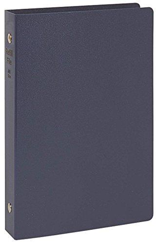 【送料無料・単価570円・30セット】レイメイ藤井 リフィルファイル A5 PP ネイビー WAF701K(30セット)