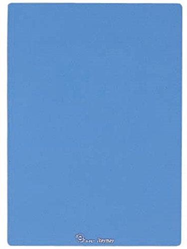 【単価100円・160セット】レイメイ 再生ペット 下敷 ブルー U140A(160セット)