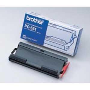 【単価1431円・20セット】ブラザー FAX用インクリボンbrother PC-551(20セット)