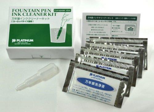 Platinum ink cleaner Kit ICL1200E 送料無料 単価908円×10セット 価格交渉OK送料無料 プラチナ萬年筆 万年筆専用ヨーロッパサイズインククリーナーキット 10セット 贈呈 4977114409356