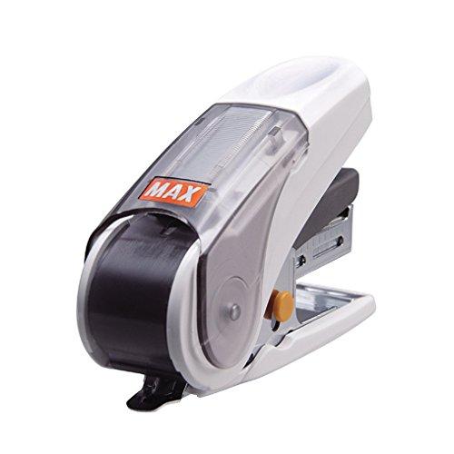 Max stapler Sacri white 売買 HD-10NL W 4902870725099 送料無料 秀逸 単価378円 ホワイト 20枚とじ サクリ マックス 40セット ホッチキス