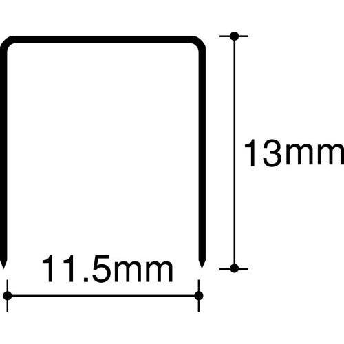 【単価433円・40セット】マックス ホッチキス針 卓上タイプ向け 12号 1213FA-H(40セット)
