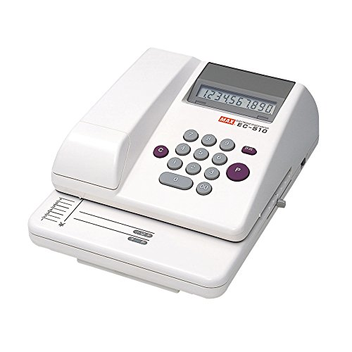 マックス 電子チェックライタ EC-510