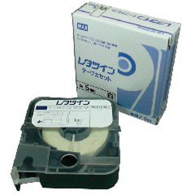 【単価663円・30セット】マックス レタツイン用 テープカセット 5mm幅 8m巻 白 LM-TP305W(30セット)