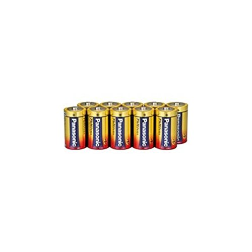 Panasonic 単1形アルカリ乾電池 10本パック LR20XJN/10S(10セット)