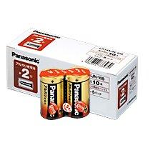パナソニック(Panasonic) 乾電池 アルカリ 単2 10本入(10セット)