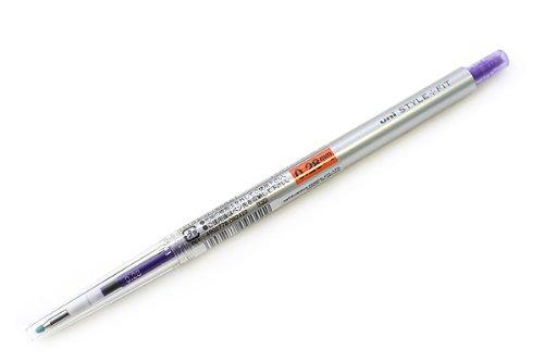 【送料無料・単価93円・170セット】ミツビシ 三菱鉛筆 UNI スタイルフィット(STYLE-FIT) ゲルインクボールペン 0.28mm【バイオレット】 UMN-(170セット)