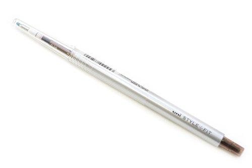 【単価93円・170セット】ミツビシ 三菱鉛筆 UNI スタイルフィット(STYLE-FIT) ゲルインクボールペン 0.28mm【ブラウンブラック】 UM(170セット)