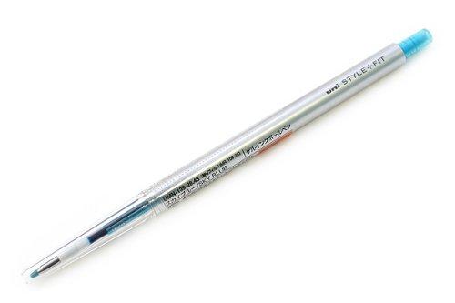 【単価93円・170セット】ミツビシ 三菱鉛筆 UNI スタイルフィット(STYLE-FIT) ゲルインクボールペン 0.28mm【スカイブルー】 UMN-(170セット)