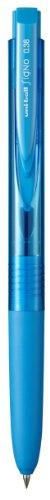 【送料無料・単価105円・480セット】ミツビシ 三菱鉛筆 UNI ユニボールシグノRT1ノック式ゲルインクボールペン0.38mmライトブルー(480セット)