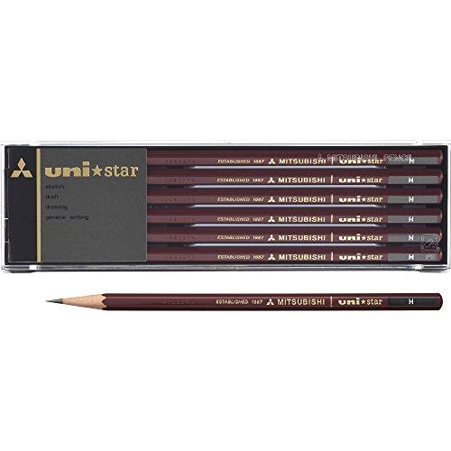 【単価560円・30セット】ミツビシ 三菱鉛筆 UNI 鉛筆 ユニスター 6角 H USH(30セット)