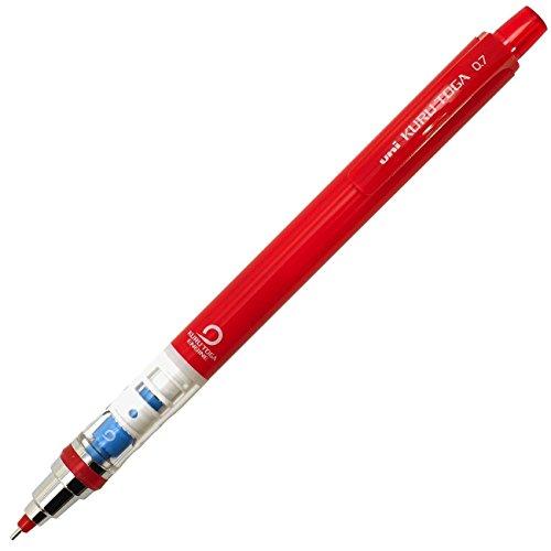 【送料無料・単価329円・30セット】ミツビシ 三菱鉛筆 UNI シャープペン ユニ クルトガ スタンダードモデル 0.7mm 芯色赤(30セット):オフィスジャパン