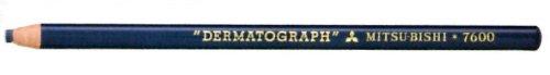 【単価1119円・20セット】ミツビシ 三菱鉛筆 UNI uni 油性ダーマトグラフ 色鉛筆 藍 [1ダース(12本入り)] K7600.10(20セット)